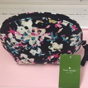 KateSpade mini zip top cosmetic case